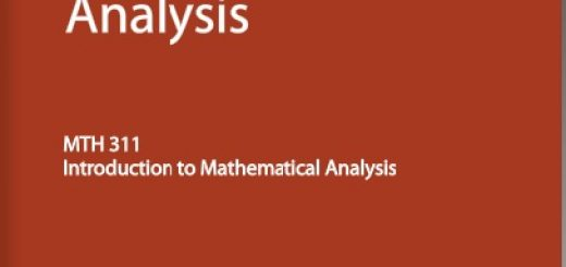 an introduction to the analysis of math Courses in mathematics mathematics math for educators  math-m 413 introduction to analysis i (3 cr)  math-m 466 introduction to.