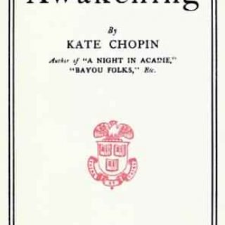 a literary analysis of the great awakening Pg 2/2 - kate chopin's the awakening was a bold piece of fiction in its time, and protagonist edna pontellier was a controversial character she upset many nineteenth century expectations for women and their supposed roles.