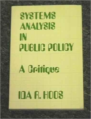 Anderson, J. E. (2003). Public policymaking: An ...