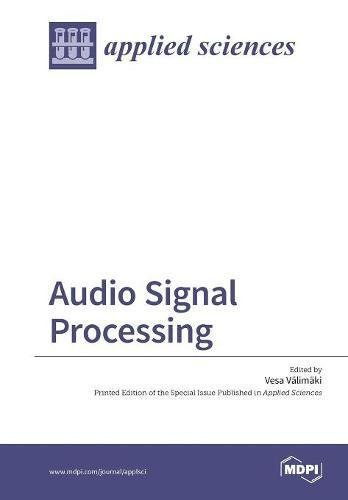 Audio Signal Processing Download Free Books Legally