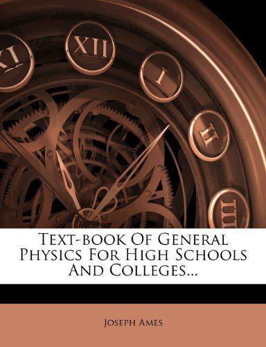 Text-Book of General Physics   Download free books legally